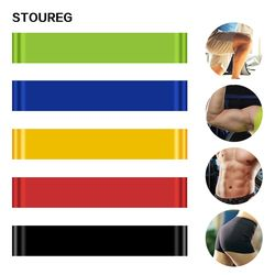 STOUREG Elastic Resistance Bands Workout Rubber Loop For Fitness Gym Strength Training Elastic Bands Fitness Equipment Expander