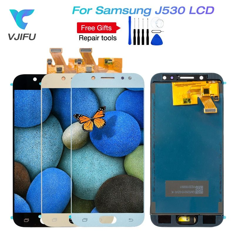 VJIFU J530F LCD Replacement For Samsung Galaxy J5 2017 Pro J530F/DS J530Y/DS Touch Screen Digitizer Display For J5 (2017) Duos