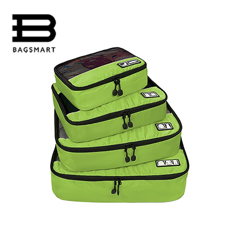BAGSMART 2018 Travel Accessories Clothing Luggage Packing Breathable Travel Bags For Shirt Pants Bra Socks Shoe Makeup Wash Bag
