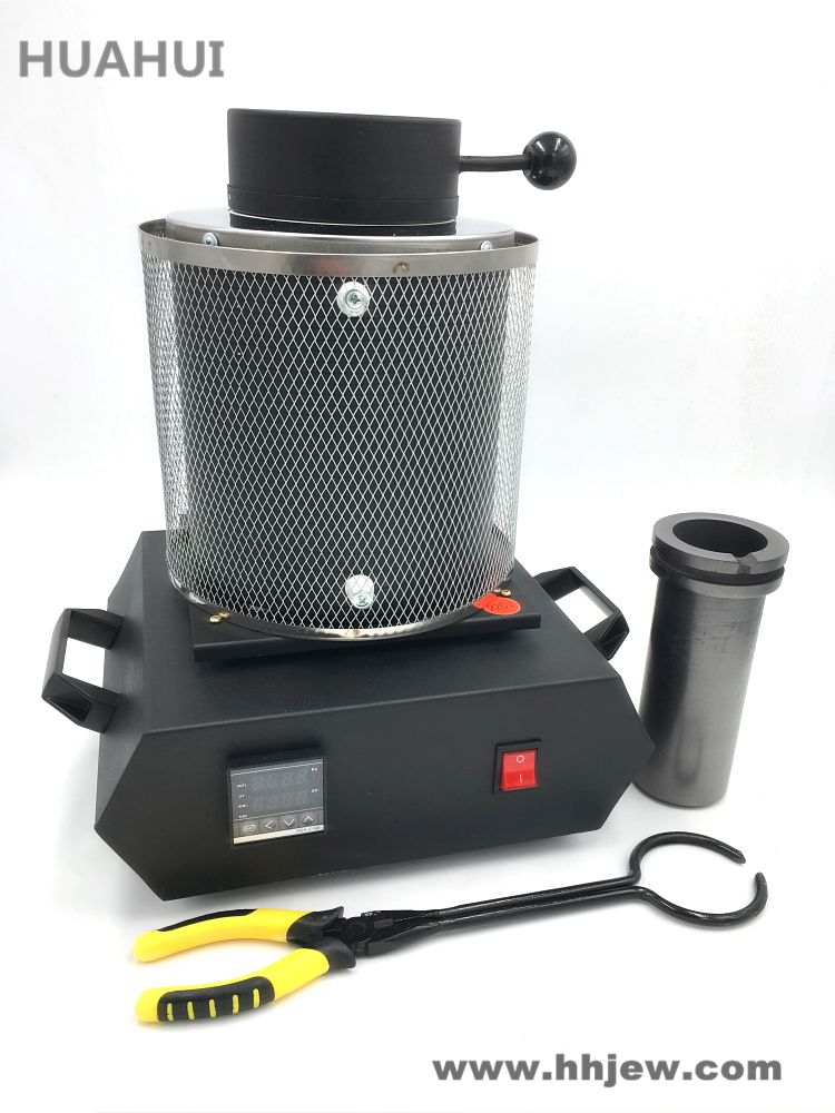 Free Shipping Electric Jewelry Melting Furnace 1KG/2KG/3KG, Aluminum, Copper, Gold, Lead, Silver, Induction melting ovan furnace