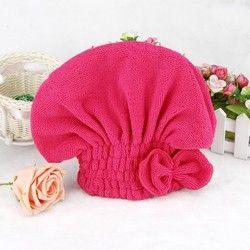 1 шт. для душа из микрофибры шапочка для ванной полотенце-Тюрбан Эластичная лента шапочка для ванной шапочка для спа милые волосы защитные ш...