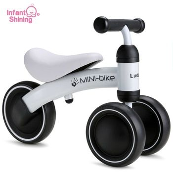 Infant Shining Baby Walker Kids Bike Toy Kids Ride Bike 1-3 Years Baby Ride on Toys for Learning Walk Baby Bike Scooter Safety
