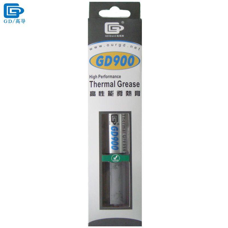 GD900 Conducteur Thermique Pâte de Graisse Silicone Plâtre Dissipateur Composé Net Poids 30 Grammes Haute Performance Pour CPU LED BX30
