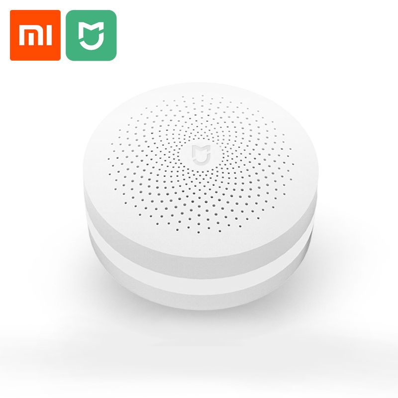 Xiaomi Multifunction Gateway Customized Bell 16 millions night light Smart Remote Control by Mijia APP