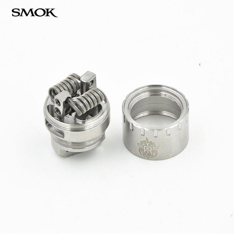 Original Smok TFV8 Baby RBA coil and V8 RBA exclusive glass tube & sealing rings Fit for tfv8 and TFV8 Baby Tank