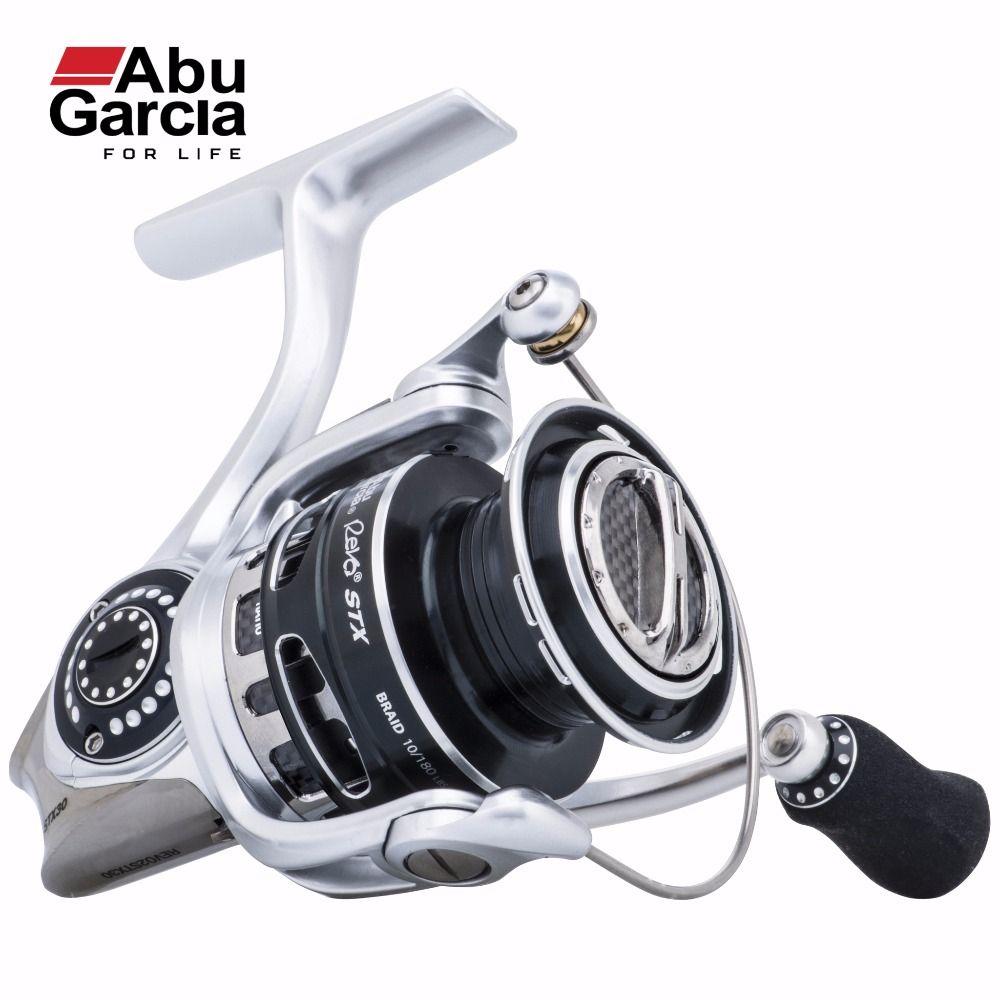 2017 New Abu Garcia 100% Original REVO STX Spinning Fishing Reel 1000-4000 Front-Drag Fishing Reel 9+1BB 6.2:1