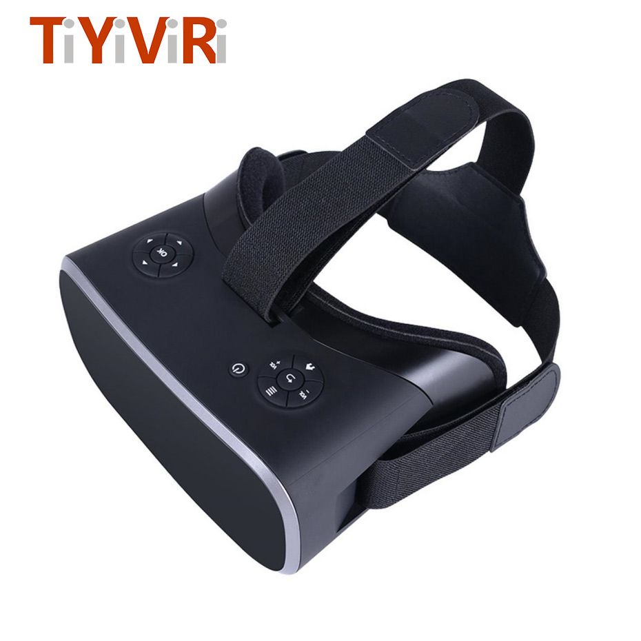 VR Box 3D Virtual PC Glasses Virtual Reality Glasses all in one VR headset For PS 4 Xbox one Host PC Resolution 2560*1440 BT 4.0