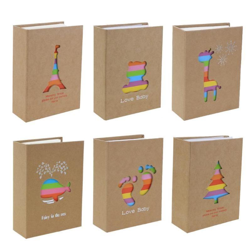 100 taschen 6 zoll Foto Album Bild Lagerung Rahmen für Kinder Kinder Geschenk Scrapbooking Bild Fall Foto Album