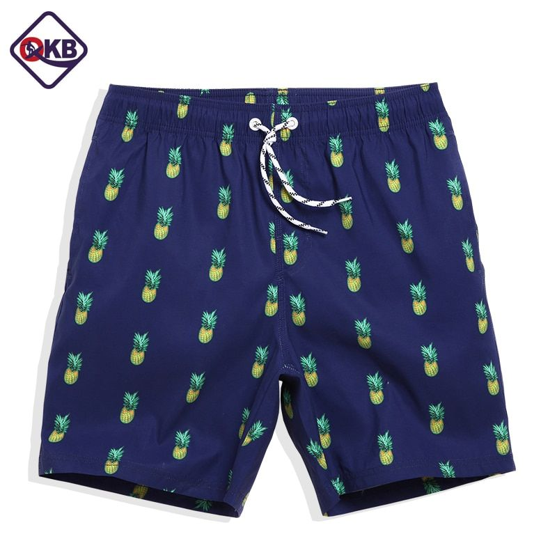 QIKERBONG Männer Strand Shorts Quick Dry Bermuda Herren Shorts Casual Cargo Bademode Männer Shorts Sommer Hip Hop Mens Board Shorts