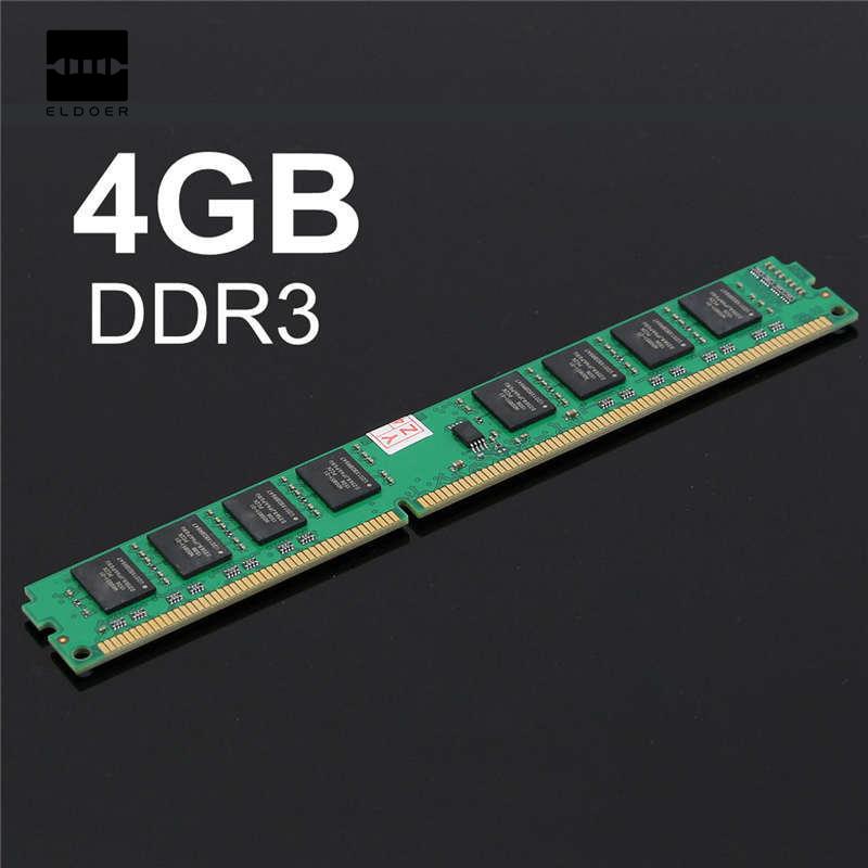 1 STÜCK 4 GB DDR3 PC3-10600 DDR3-1333 MHZ 240-Pin Desktop PC DIMM Speicher RAM 1,5 V Integrierte Schaltungen Module