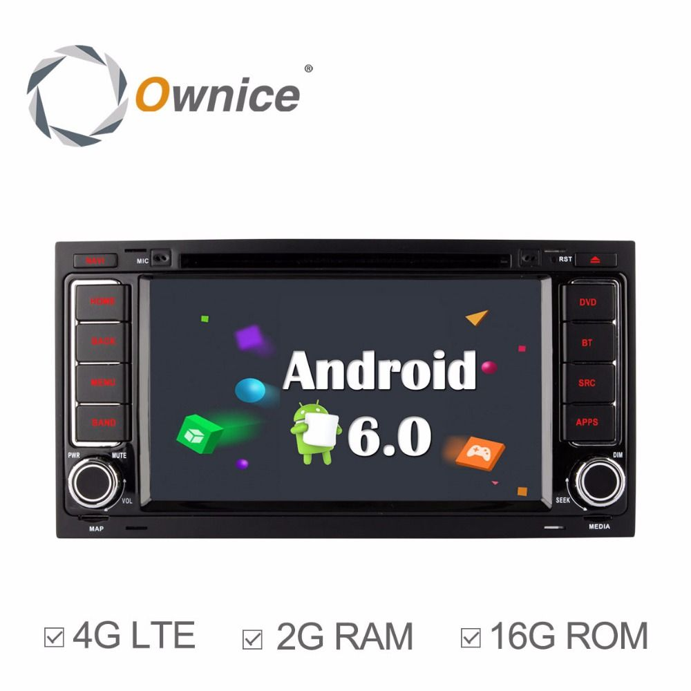 Ownice C500 octa core Android 6.0 2G RAM Car DVD GPS Stereo Sat Navi Headunit For Volkswagen TOUAREG T5 MULTIVAN Support 4G LTE