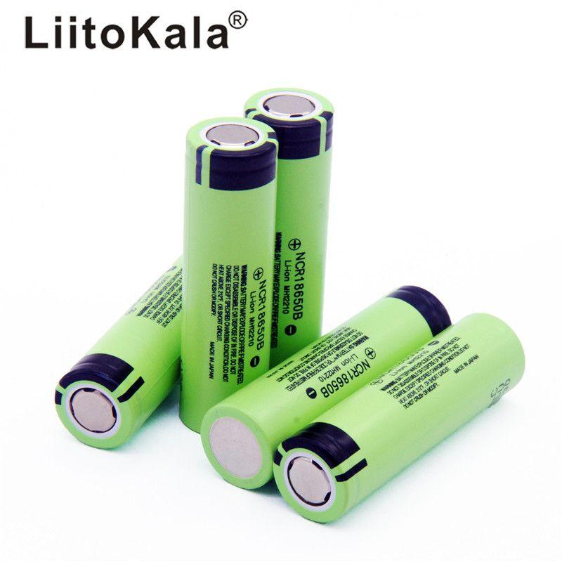 2018 LiitoKala neue original NCR18650B 34B 3,7 V 18650 3400 mAh lithium-batterie für taschenlampe batterie