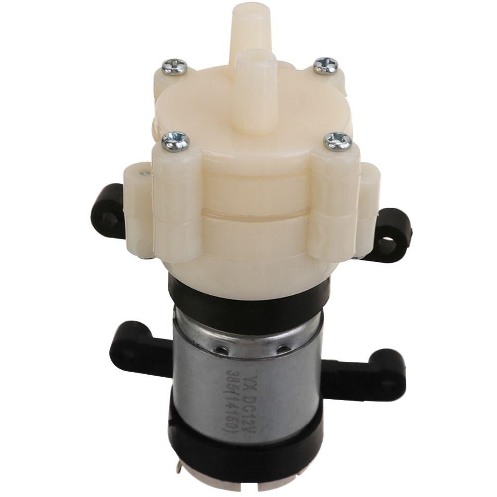 1 pc DC12V Micro pompe auto-amorçante vaporisateur moteur diaphragme pompes à eau 1.5-2L/Min pour distributeur d'eau pulvérisateur Mayitr 90*40*35mm