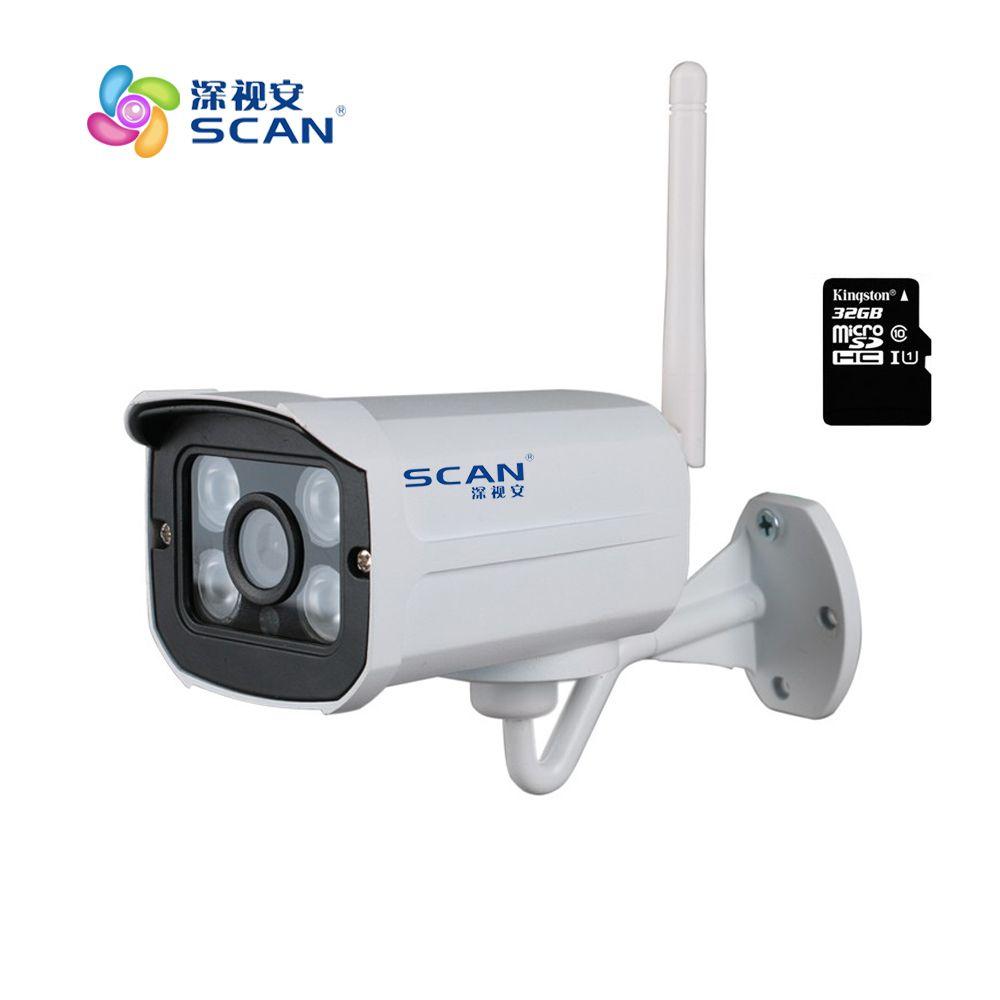 Caméra IP blanche HD 1080P Wifi 2mp surveillance sans fil sécurité Mini Webcam CMOS Vision nocturne infrarouge livraison gratuite à chaud