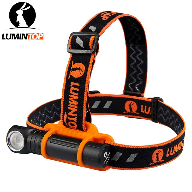 LUMINTOP    Rechargeable Multifunction Headlight HL18  One Switch Operation with  Magetic Tail  and  Anti-slip headband