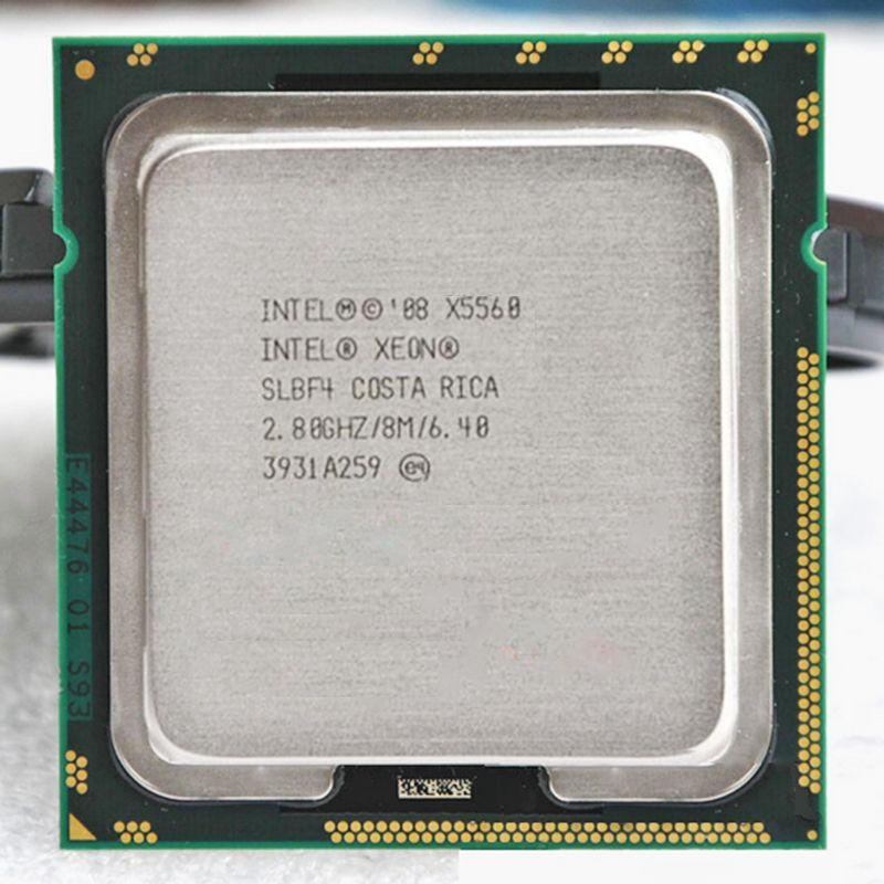 Intel Xeon X5560 Quad Core 2,8 GHz LGA 1366 TDP 95 Watt 8 MB Cache CPU garantie 1 jahr