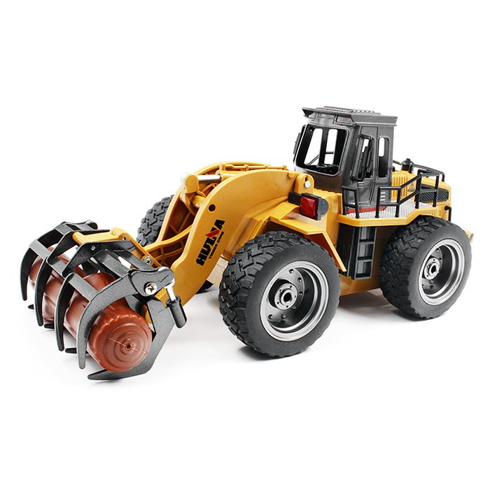 HUINA TOYS 1590 1:18 2.4GHz 6CH RC Alloy Timber Grab Truck RTR Grasper Opening Closing / Movable Arm / Mechanical Sound For Gift