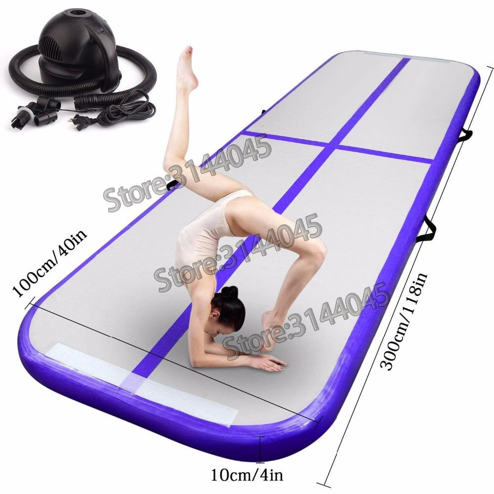 Hot Inflatable Air Track Tumbling Gymnastic/Yoga/Taekwondo/Water Floating/Camping Foldable Training Anti-slip Mat 5M*1M*0.2M