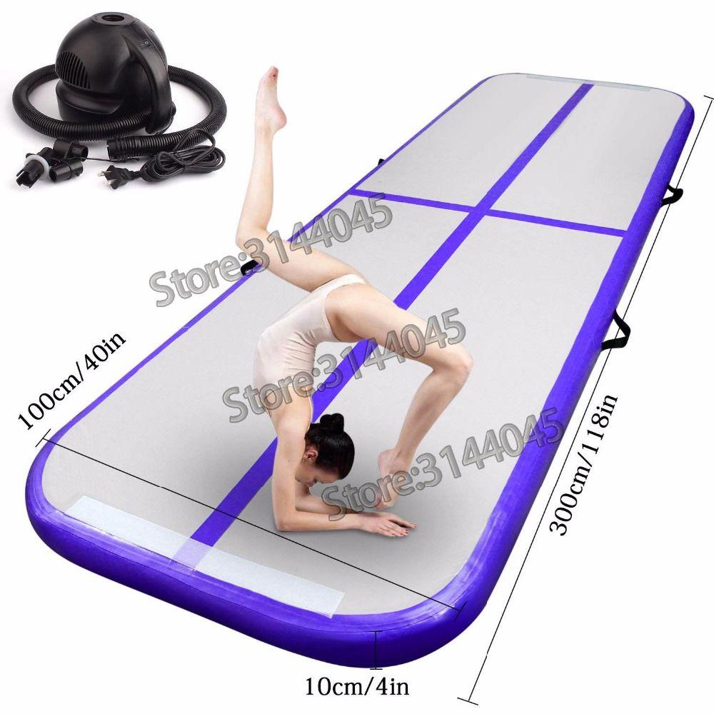 Hot Inflatable Air Track Tumbling Gymnastic/Yoga/Taekwondo/Water Floating/Camping Foldable Training Anti-slip Mat 5M*1M*0.2M