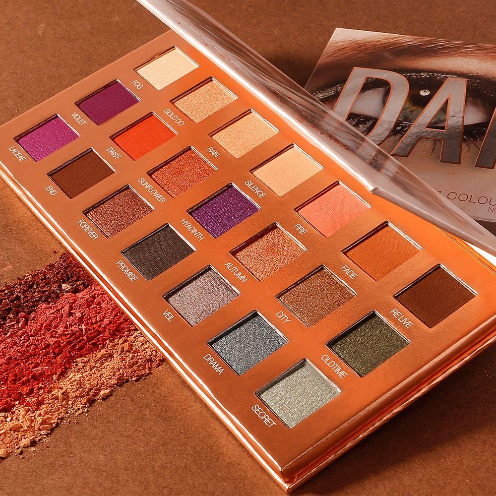 O.TWO.O Palette de fard à paupières 21 couleurs poudre Ultra Fine ombre pigmentée paillettes diamant scintillant maquillage Palette d'ombres à paupières