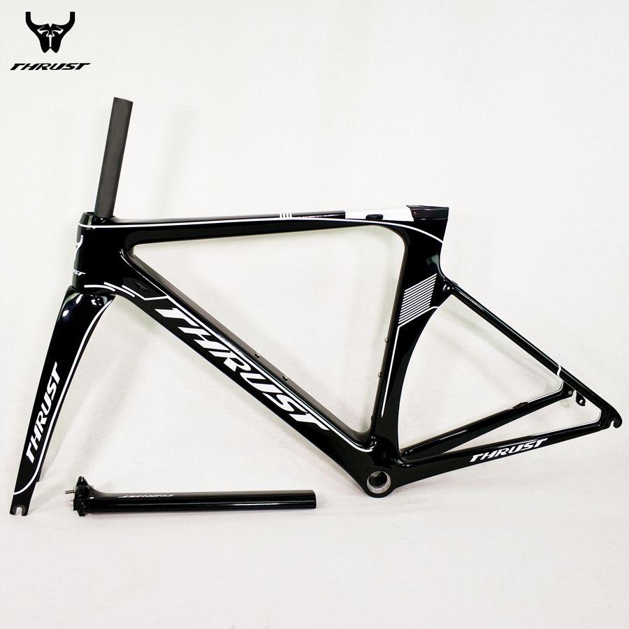 SCHUB Carbonstraßenrahmen 48 50 52 54 56 cm Rennrad Rahmen schwarz Matt Glänzend UD T1000 8 Farben 2 Garantie für Fahrradteile