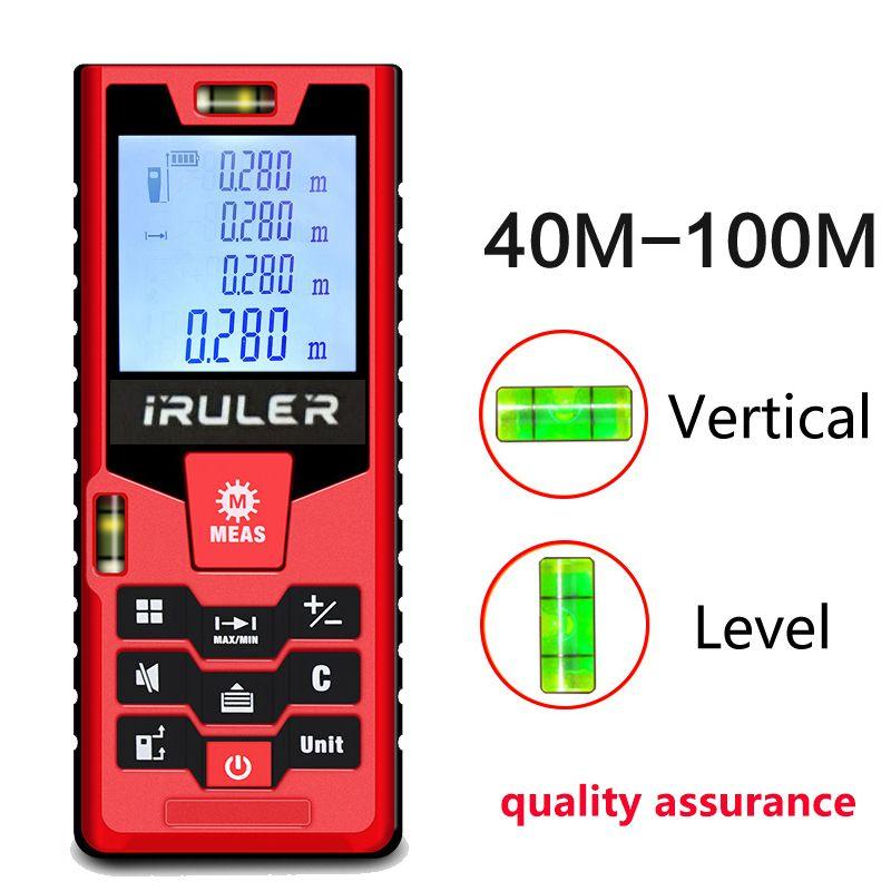 Mileseey S2 laser rangefinder 40m 60m 100m distance measurer laser distance meter