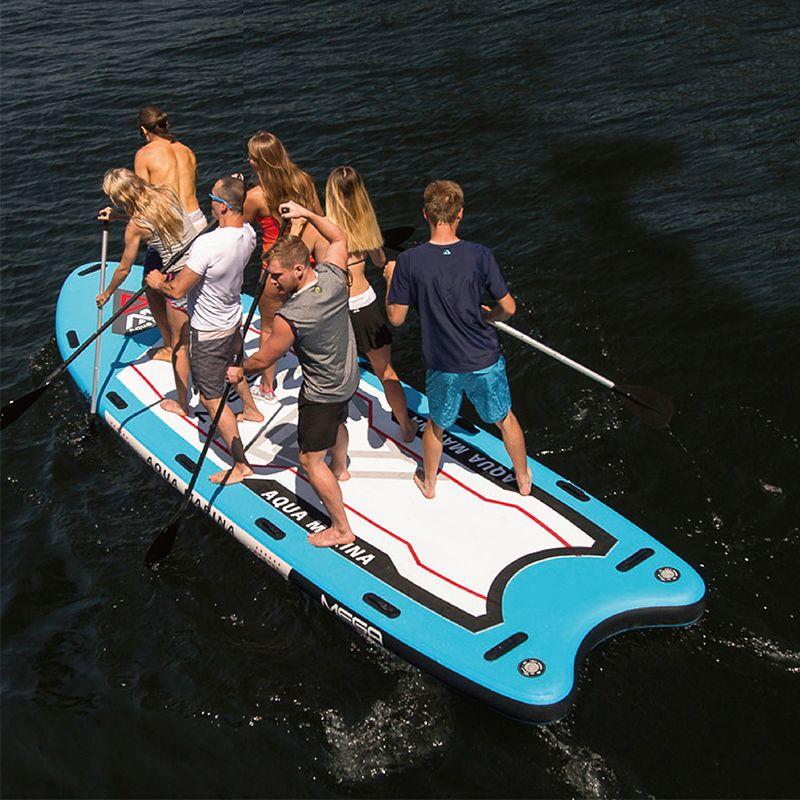 Aqua Marina MEGA 550*152*20 cm Große Größe Aufblasbare SUP Stand Up Paddle Board Surfbrett Aufblasbare Boot mit Kamera Montieren A01014