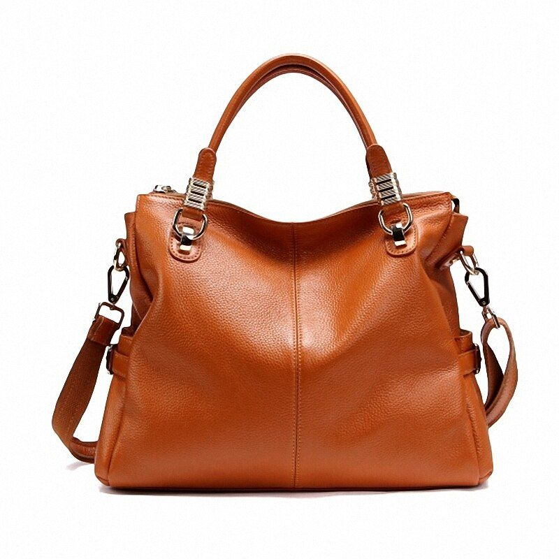 Guaranteed 100% Natural Genuine Leather Women Handbag First Layer Of Cowhide Tote Fashion Women Messenger Bags PT10