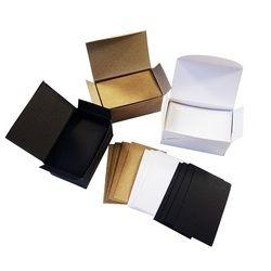 100 Pcs/lot Blanc Noir Kraft Papier Carte de visite vierge cartes Message Mémo Partie Cadeau Merci Cartes Étiquette BookmarkName Carte