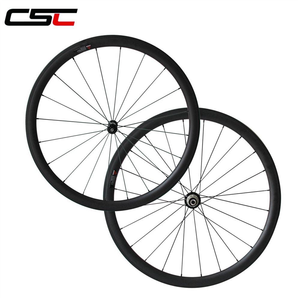 width 23mm R36 Ceramic bearing hub 38mm 50mm 60mm 88mm depth clincher or tubular carbon road bike wheels with 424 spokes