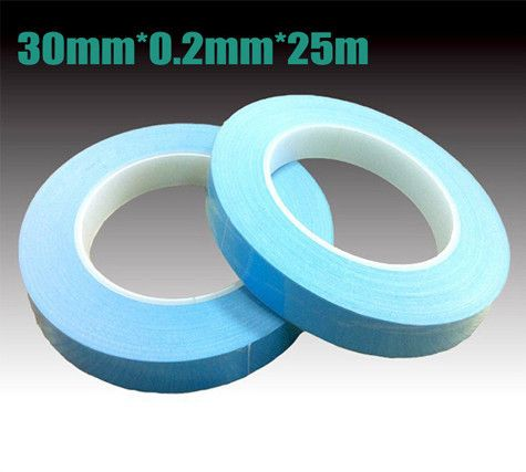 30mm width 25M length Chip PCB Heatsink thermal tape Double Sided Thermal Conductive Adhesive tape Transfer Tape