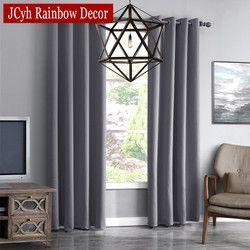 JRD Moderne Blackout Rideaux Pour Salon Fenêtre Rideaux Pour Chambre Rideaux Tissus Finis Prêts À L'emploi Rideaux Stores Ont Tendance