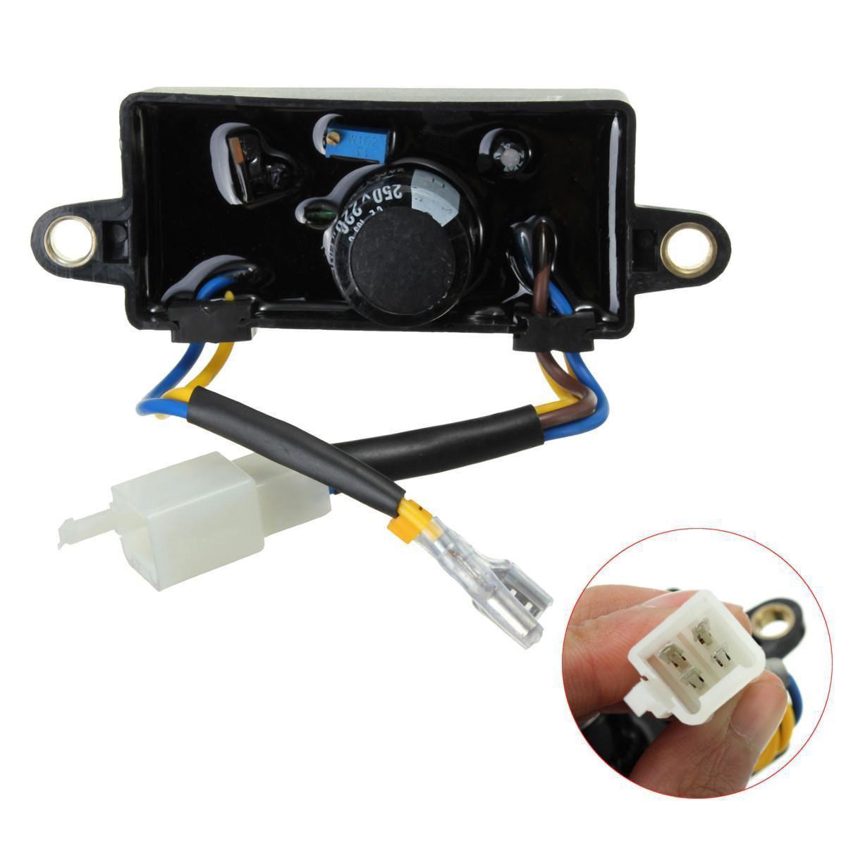 Spannungsgleichrichter Elektrostart Einphasig Generator AVR 110*38*35mm Für 2KW-3KW Chinesischen Benzin-generator