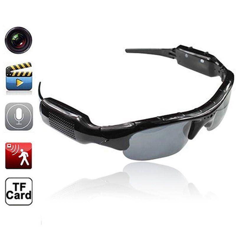 Mini Camera with Audio Sound Video Recorder Bicycle Bike Sun glasses Cam Helmet Camera DV Candid Nanny Pinhole Digital
