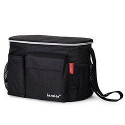 Insular 2017 popok tas untuk kereta dorong bayi tas popok isolasi termal tas mumi tahan air bayi stroller stroller organizer