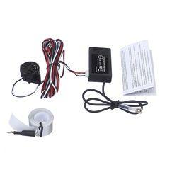 Envío Gratis auto Sensor de aparcamiento electromagnético sin agujeros deben, fácil de instalar, radar de estacionamiento, parachoques guardia respaldo Sensor de aparcamiento