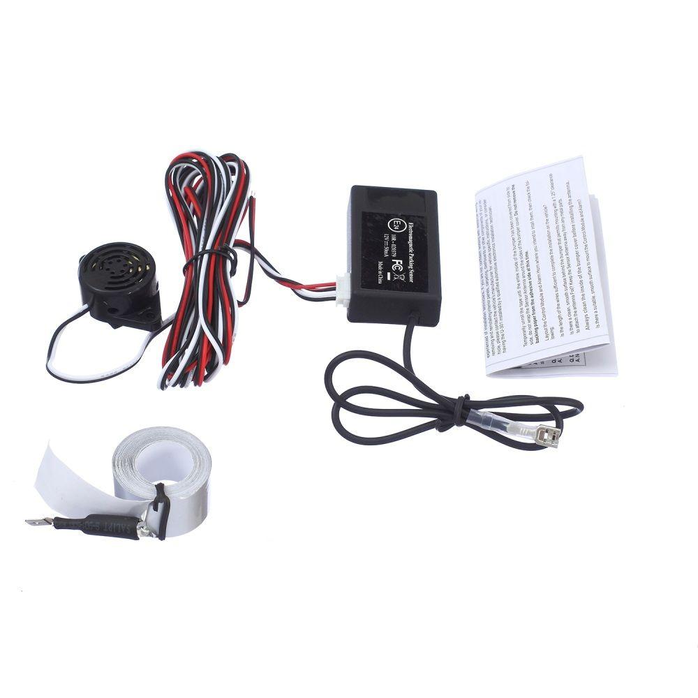 Livraison gratuite capteur de stationnement électromagnétique automatique pas besoin de trous, installation facile, radar de stationnement, capteur de stationnement de secours
