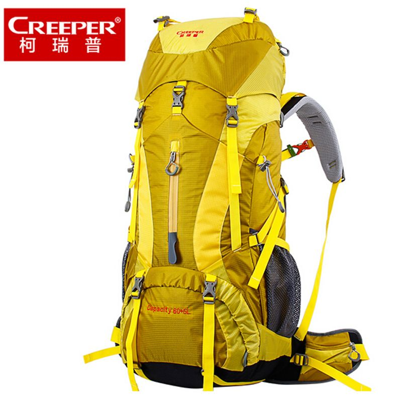 Creeper 65L Backpack Camping Hiking Climbing Sport Mountaineering Double Shoulder Bag Large Capacity Waterproof Travel Backpacks