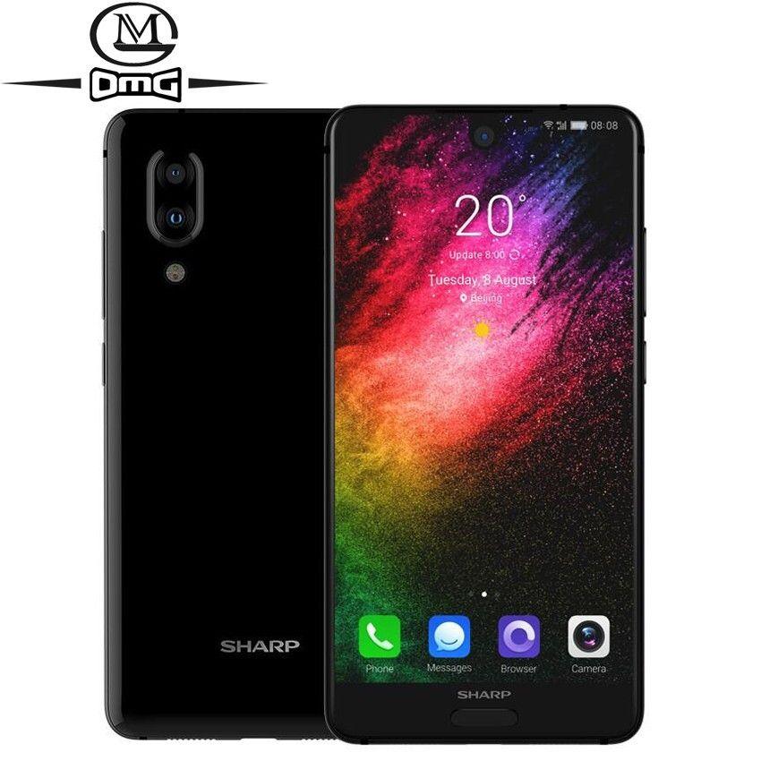 SHARP AQUOS S2 C10 handy Android 8.0 4G Smartphone 5,5 zoll FHD + Snapdragon 630 Octa Core handys 4 GB + 64 GB NFC Handy