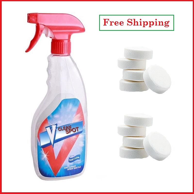 Multifunctional Effervescent Spray Cleaner Set V Clean Spot Home Cleaning Concentrate Cleaning Tools Recommended Drop shipping