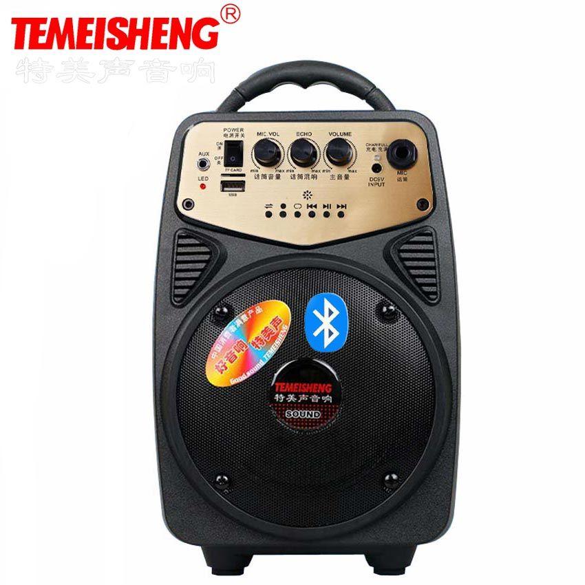 Q2 30 W En Plein Air Portable Haute Puissance Haut-Parleur Amplificateur Bluetooth Haut-Parleur de Soutien Mégaphone Microphone Et AUX USB TF Colonne