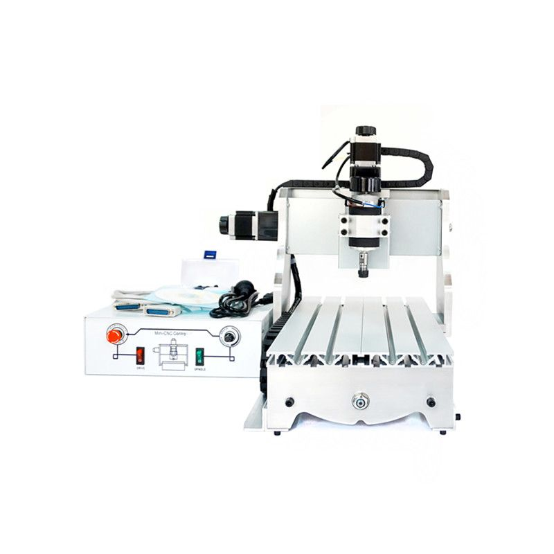 small CNC machine 300W CNC 3020 T-D300 DC power spindle motor CNC engraving machine drilling router engraver