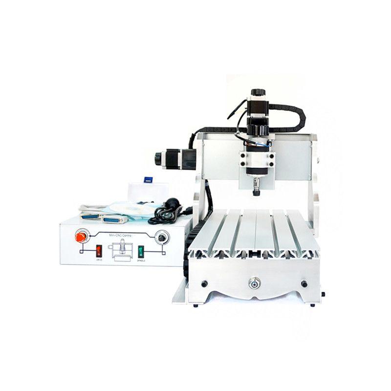 Kleine cnc-maschine 300 Watt CNC 3020 T-D300 DC power spindelmotor CNC graviermaschine bohren router stecher