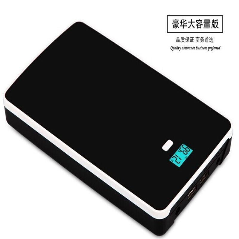High quality 5V,7.4V,9V,12V,14.5V,16V,19V Lithium Li-polymer 50000mah USB chargeable Battery for Laptop cellphone power supply