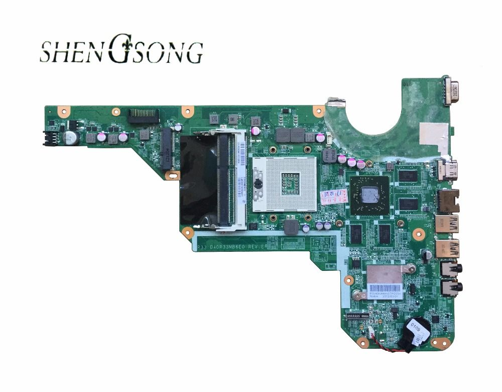 680569-001 680569-501 motherboard für hp pavilion G4-2000 G6-2000 g7 laptop mit 100% vollständig getestet DA0R33MB6F1 DA0R33MB6E0