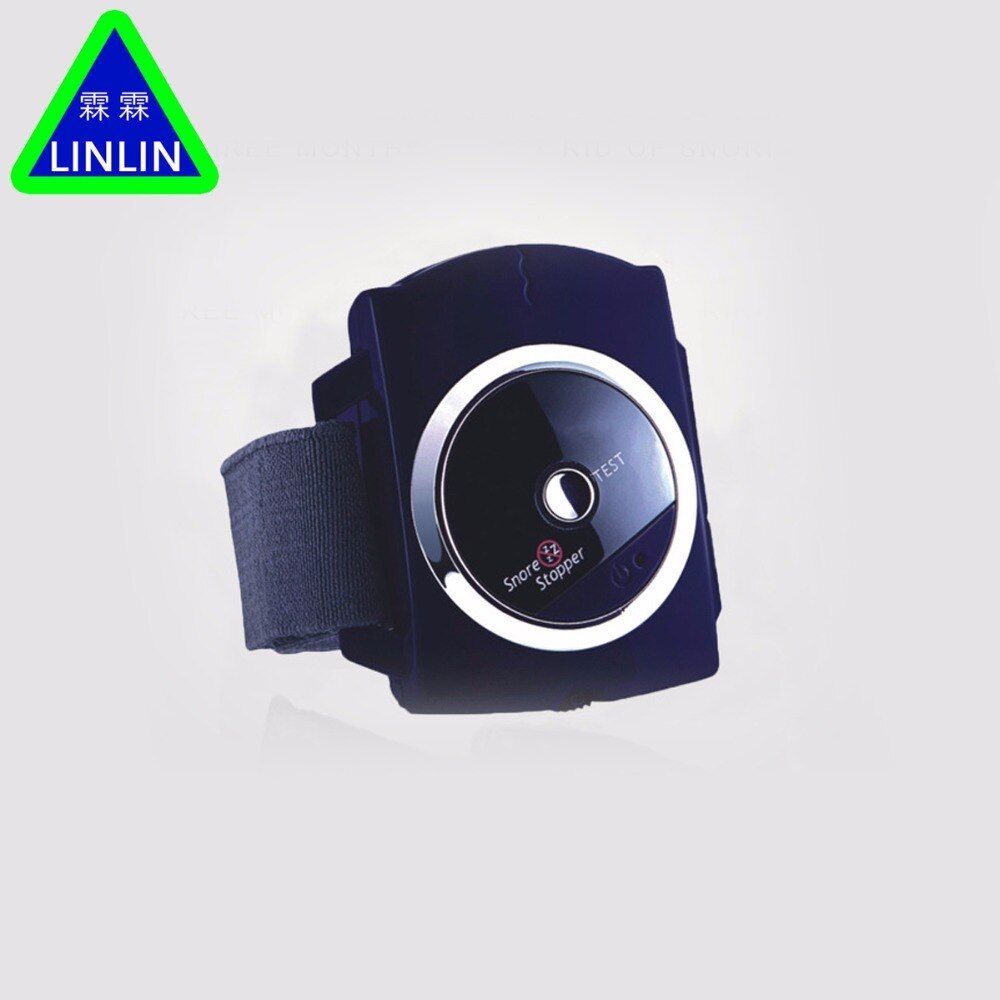 LINLIN Smart Snore Stopper Stop Snoring Biosensor Infrared Ray Detects Anti Snoring Device Wristband Watch Sleeping Aid