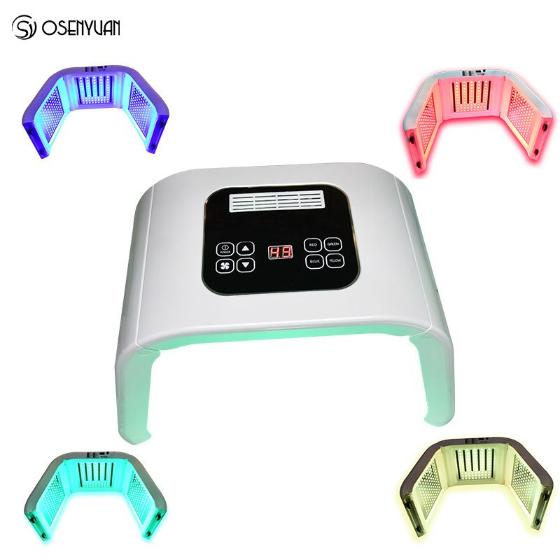 PDT LED Photon Light Therapy Lamp Home Use Facial Body Beauty SPA PDT Mask Skin Tighten Rejuvenation Acne Wrinkle Remover Device