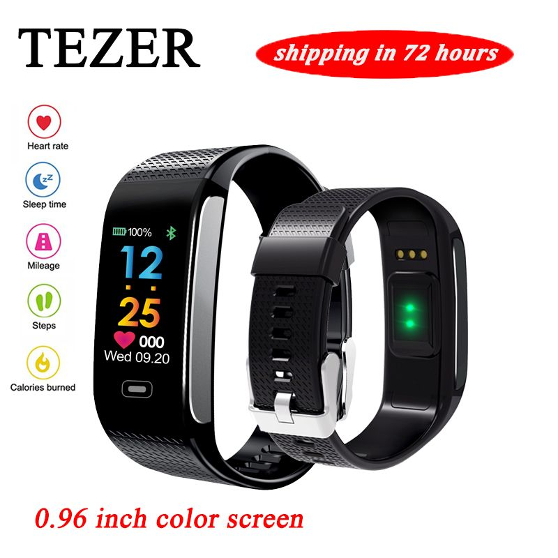R18S Smart Wristband Heart Rate Monitor IP67 Sport Fitness <font><b>Bracelet</b></font> Tracker Smartband Bluetooth For Android IOS PK miband 2