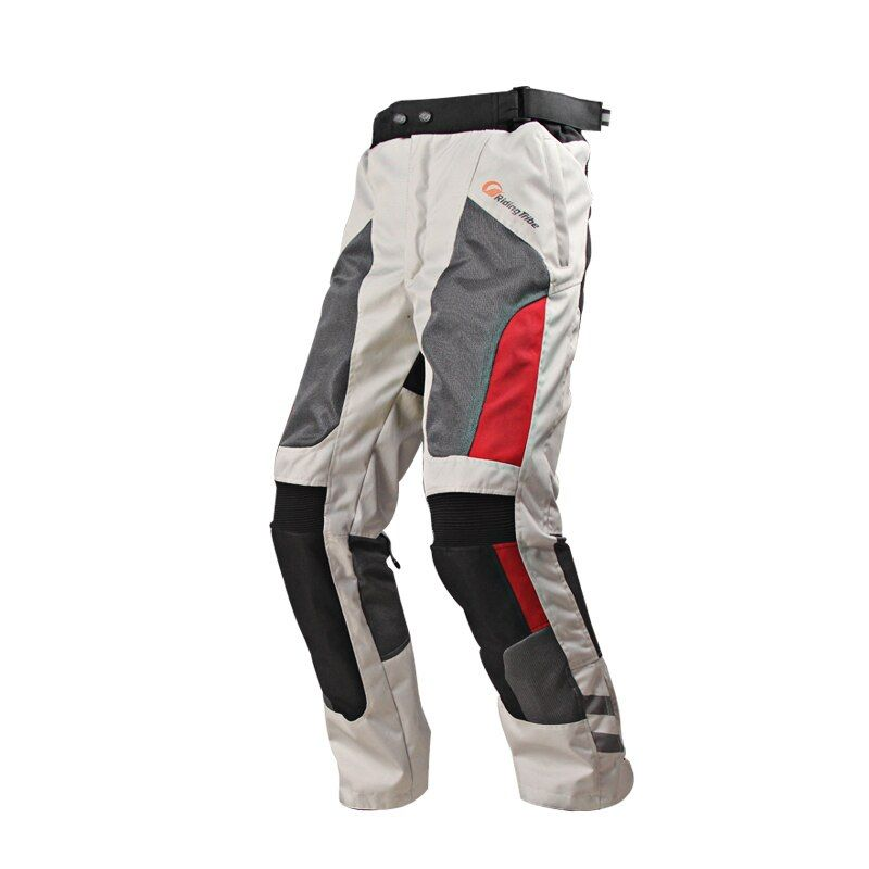 Motorcycle Pants Motocross Trousers Durable Waterproof Breathable Windproof Protective Pads for Off-Road Cycling Riding Racing