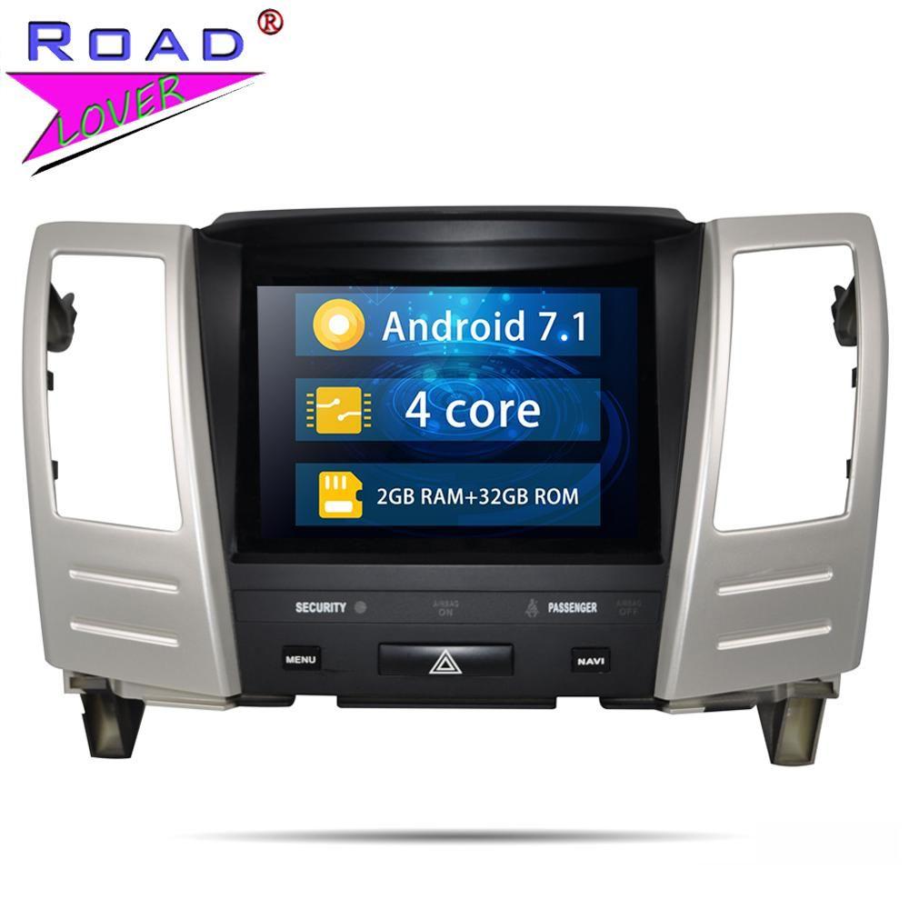 Android 7.1 8,4 ''Auto Radio Für Lexus RX400H RX330 RX300 RX350 GPS Navigation Autoradio Mit Bluetooth Lenkrad-steuerung